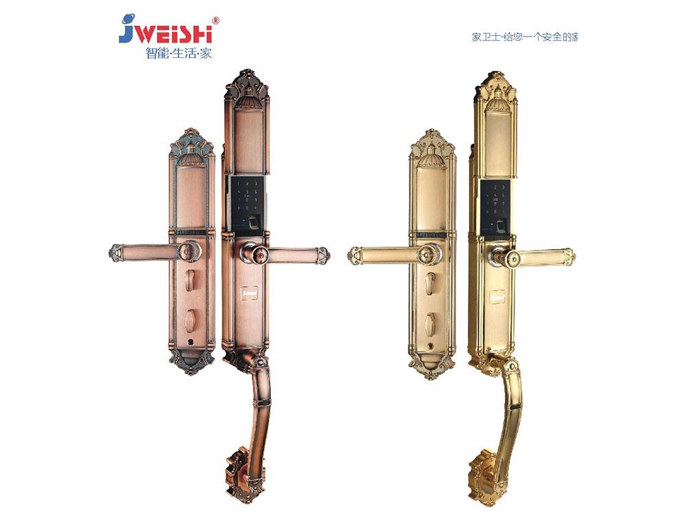 T19-4别墅款自动静音滑盖智能锁